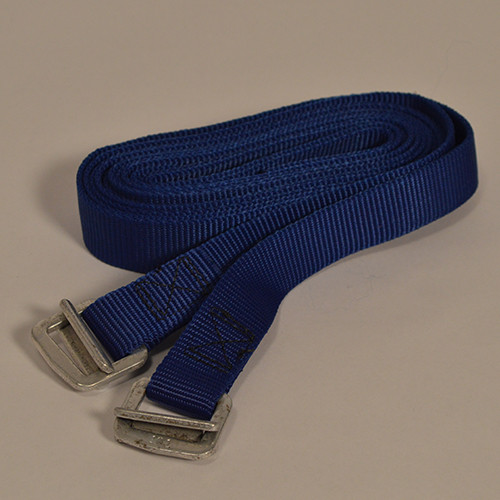 Nylon Webbing Parachute Buckle Straps - Bright Blue - 6 feet- #200