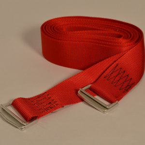 Nylon Webbing Parachute Buckle Straps - Orange - 8 feet- #207